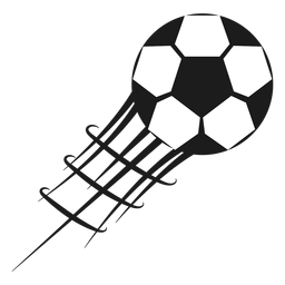 Pentágono fútbol fútbol silueta