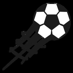 Silhueta de futebol do Pentágono