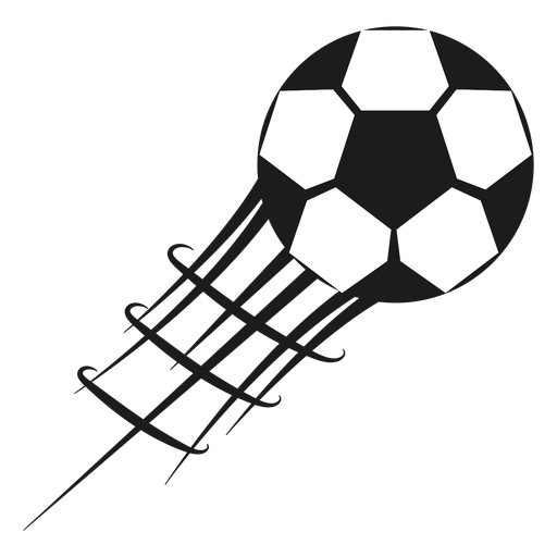 Pentagon football soccer silhouette Transparent PNG