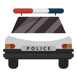 Police car flasher illustration