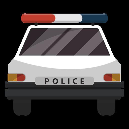 Ilustración de intermitente de coche de policía Transparent PNG