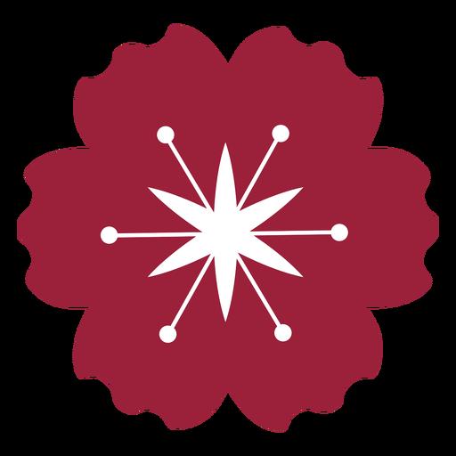 Flor de amapola silueta Transparent PNG