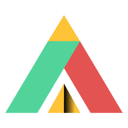 Pirámide triángulo paralelogramo trapecio apex plano