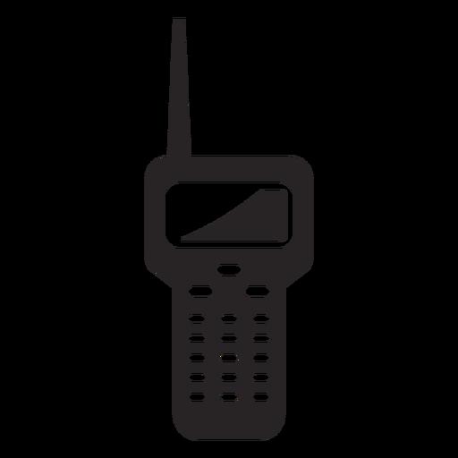 Silhueta de estação de rádio Transparent PNG