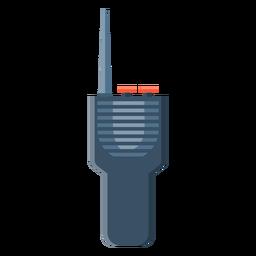Ilustração de transmissor de estação de rádio