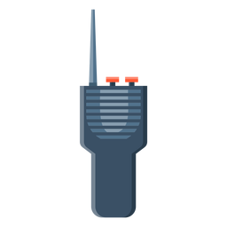 Radio station transmitter illustration