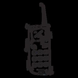 Esboço de transmissor de estação de rádio