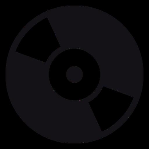 Grabar musica silueta Transparent PNG