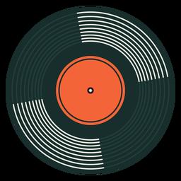 Ilustración de vinilo de rareza de registro