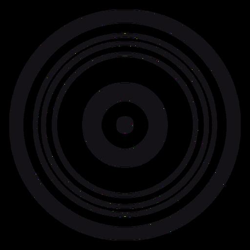 Silhueta de registro Transparent PNG