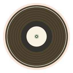 Record vinyl illustration