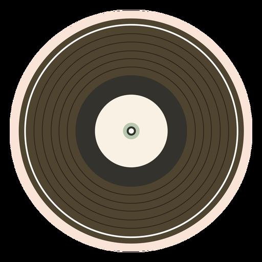 Record vinyl illustration Transparent PNG