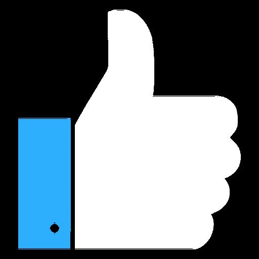 Botão retângulo manguito plana Transparent PNG