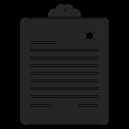 Report silhouette