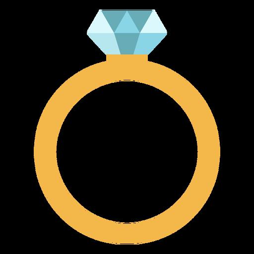 Anillo de diseño plano Transparent PNG