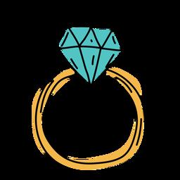 Ring flat doodle design