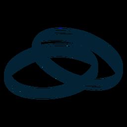Silhueta do anel