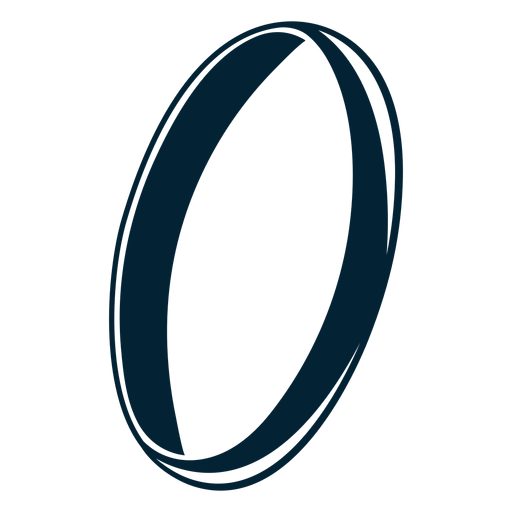 Ring silhouette design Transparent PNG