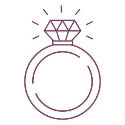 Ring stroke icon