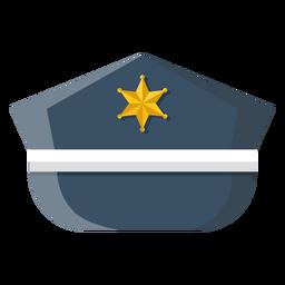 Service cap illustration