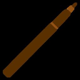 Einfache Bleistiftillustration