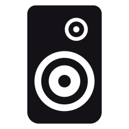 Speaker loudspeaker silhouette