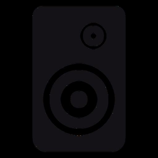 Alto-falante alto-falante silhueta Transparent PNG