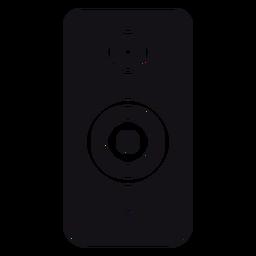 Speaker loudspeaker subwoofer silhouette