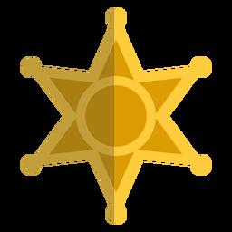 Estrela plana