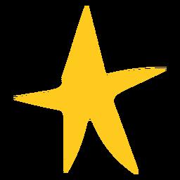 Estrella plana del cielo