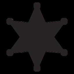 Silhueta da estrela