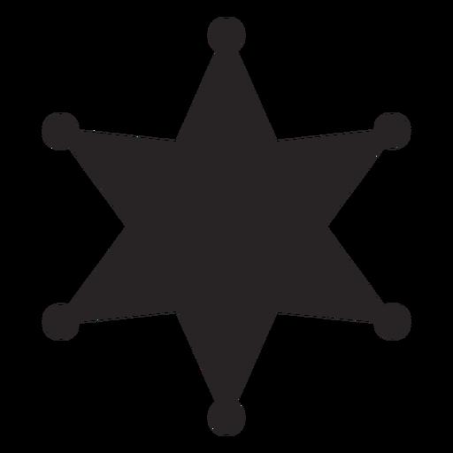 Silhueta da estrela Transparent PNG