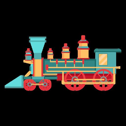 Locomotora de vapor ilustración piloto Transparent PNG