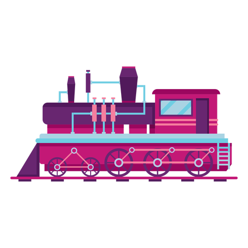 Locomotora de vapor tren piloto ilustración Transparent PNG