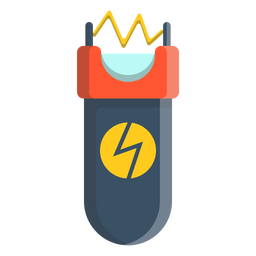 Elektroschocker illustraton