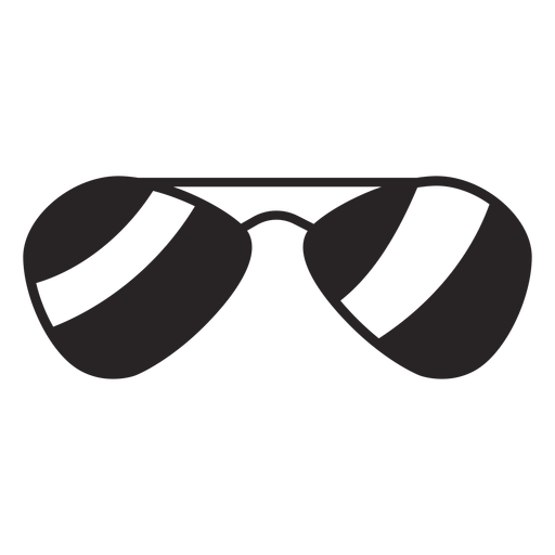 Sunglasses silhouette Transparent PNG
