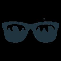 Sonnenbrille-Wellenillustration