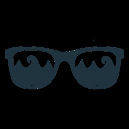 Sunglasses wave illustration Transparent PNG