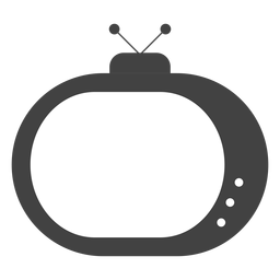 Fernsehantennenschattenbild