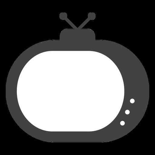 Silhueta de antena de televisão Transparent PNG