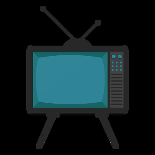 Antena de televisión plana