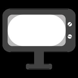 Televisor de iconos de televisión