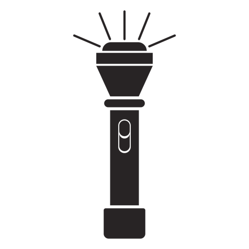 Torch silhouette