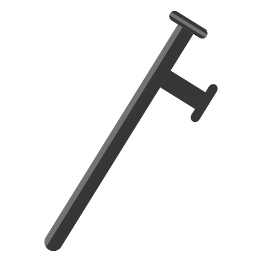 Truncheon club baton illustration Transparent PNG