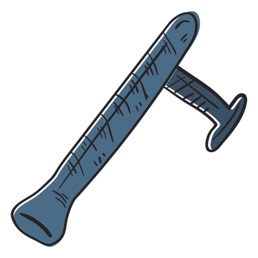 Truncheon club illustration Transparent PNG
