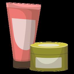 Ilustração de jarra de tubo