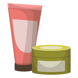 Tube jar illustration