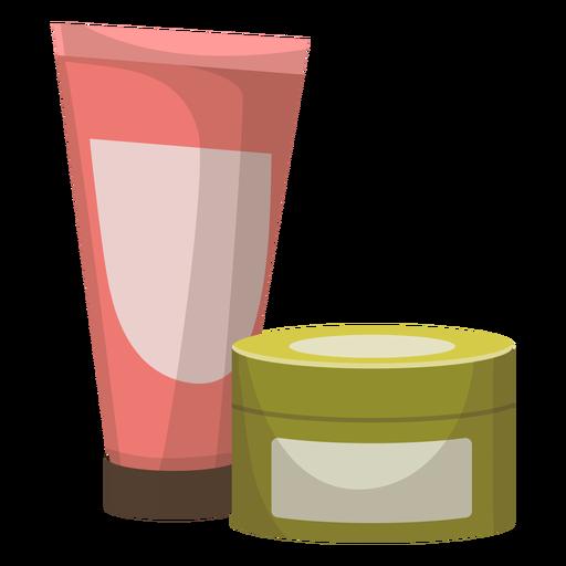 Ilustración de tarro de tubo