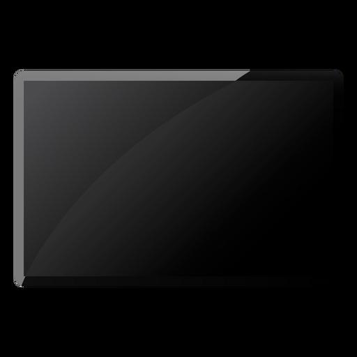 Tv set flat Transparent PNG