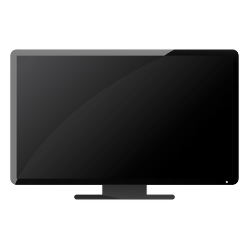 Tv set pierna plana Transparent PNG